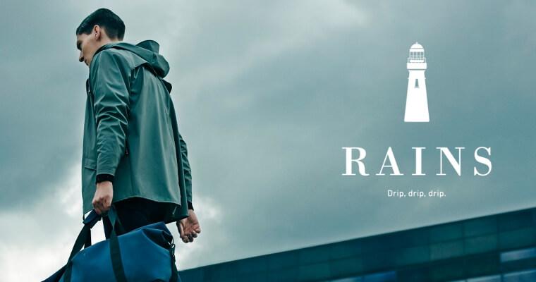 Značka RAINS – bojovníci za vkus v daždivom dni