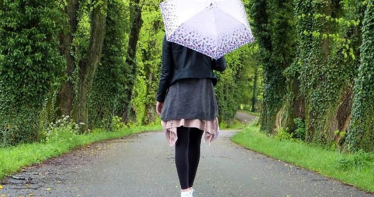 10 dámskych outfitov do daždivého dňa