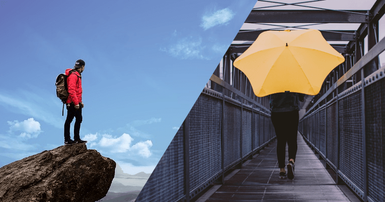 Dáždnik, pršiplášť či membránová bunda?
